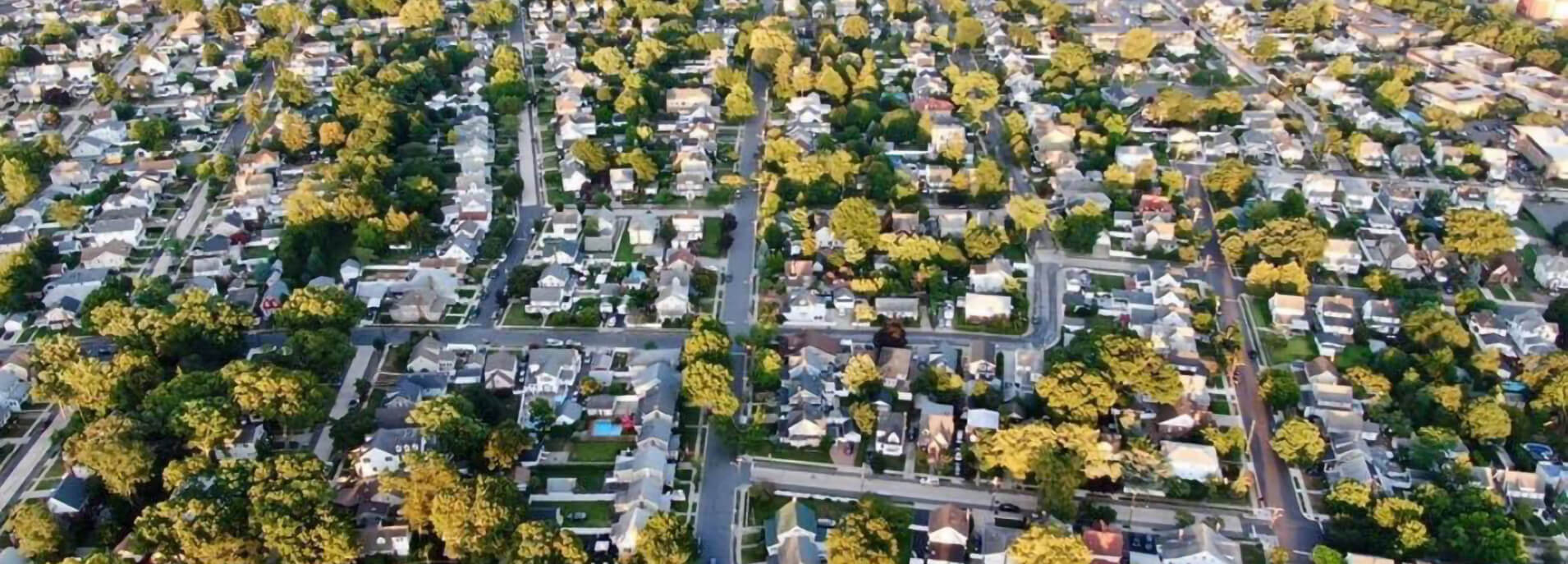 Lynbrook Village Aerial View